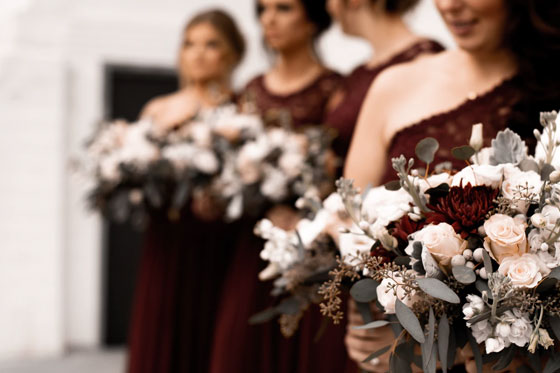Buy bridesmaids dresses off the rack – and on sale. - How to Plan a Wedding on a Budget